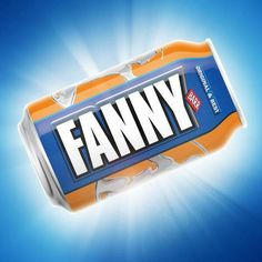 Taking the mick out of Coca-Cola's ubiquitous named-bottle campaign, IRN-BRU has released its very own range of named drinks cans. However, the personalised range only caters for one name: Fanny
