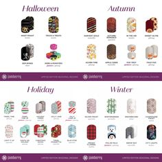 The new holiday wraps have been announced. Yippee!!! So excited! These Halloween, Autumn, Holiday and Winter wraps will be available beginning September 13th through January 1st. http://toutzen.jamberry.com