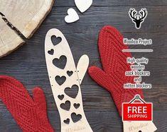 High-quality wooden sock blockers and mitten de WoodicoProjectShop Socks, Etsy, Creativity, Hosiery, Stockings, Sock