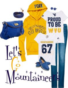 """""""Let' Go Mountaineers!"""""""