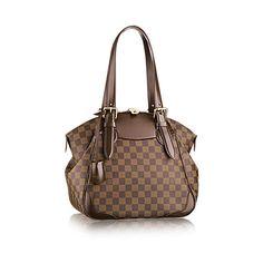 3595e427282 COM - Louis Vuitton Verona MM (LG) DAMIER EBENE Handbags The Verona MM in  Damier Ebène canvas is an elegant modern take on the classic doctor s bag.
