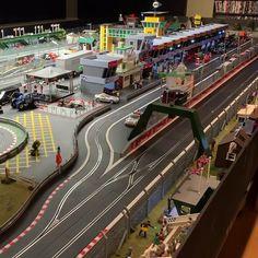 Slot Car Race Track, Ho Slot Cars, Slot Car Racing, Slot Car Tracks, Scalextric Digital, Scalextric Track, Carrera Slot Cars, Disney Incredibles, Our Town