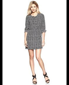 Copious: Shirtdress Black and White