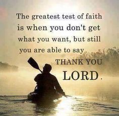 In every thing give thanks: for this is the will of God in Christ Jesus concerning you. I Ts 5:18