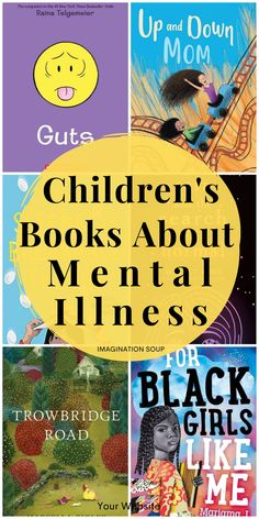 picture books and chapter books with characters who have a mental illness Reading Centers, Kids Reading, Reading Activities, Health Activities, Literacy Activities, Reading Lists, Mental Illness In Children, Children Health, Feeling Pictures