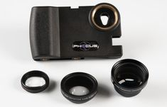 iPhone camera lens adapter - by Phocus