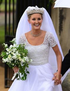 Lady Melissa Percy Departing Her Wedding Ceremony To Mr Thomas Van Straubenzee At St Michael S