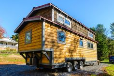 Exterior Side View - MH by Wishbone Tiny Homes