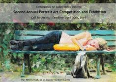 "Join the Second Annual Portrait Art Competition and Exhibition - DEADLINE APRIL 30, 2014 - http://www.theartlist.com/art-calls/join-the-second-annual-portrait-art-competition-and-exhibition - Our Second Annual Art Competition and Exhibition Theme for April is ""Figurative / Portrait"". A call to artists is announced for the artist's interpretation of the Figurative / Portrait theme. ""Figurative"" is considered to be figures, forms and faces either in the representational or abstract genre."