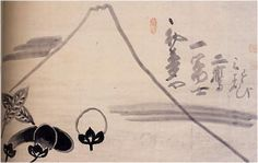 《一富士二鷹三茄子》 Zen:Painting:ZEN ART Japan