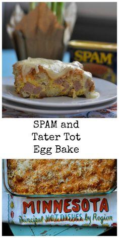HA HA HA HA!! A Minnesota Spam and Tater Tot Hot Dish!!!!