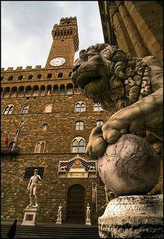 | ♕ | Piazza della Signoria -#Florence Tuscany