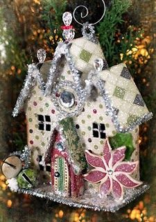 tutorial: winter house ornament