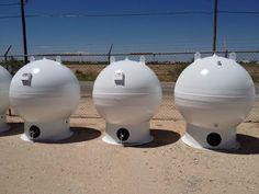 Compressed Natural Gas (CNG) storage spheres. http://www.alliedeq.com/cng-storage-spheres.html