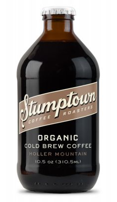 The Stumptown Holler Mountain organic cold brew, featuring the company's new RTD drink logo, is schedule for release in March.