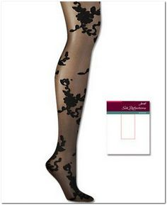 Hanes 0B421 Silk Reflections Scrolled Floral CT Spr12 Women's Shapewear, Reflection, Stockings, Silk, Floral, Shirts, Color, Fashion, Socks