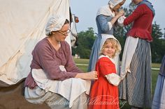 """""""Under the Redcoat"""" June 2010. Re-creation of the British Army's 1781 Occupation of Williamsburg. Colonial Williamsburg's Historic Area, Williamsburg Virginia."""