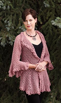 Ravelry: Flirty and Feminine pattern by Jill Wright