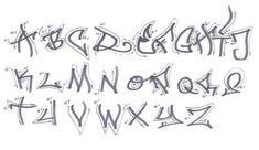 graffiti handwriting fonts
