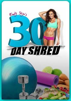 30 day shred by Tiare Kirkland - issuu Fitness Diet, Fitness Motivation, Health Fitness, Fitness Plan, 30 Days Shred, Post Baby Workout, Emily Skye, 30 Day Abs, Bodybuilding Nutrition