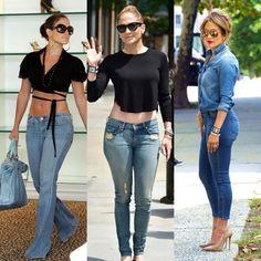 Choose one look 😍😘 J Lo Fashion, Denim Fashion, Look Fashion, Autumn Fashion, Fashion Outfits, Womens Fashion, Casual Outfits, Summer Outfits, Jean Outfits