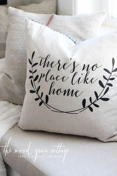 Sewing Pillows Handmade Pillows By The Wood Grain Cottage More (throw pillow covers no sew) - Handmade Pillows, Handmade Home Decor, Cheap Home Decor, Decorative Pillows, Diy Home Decor, Sewing Pillows, Diy Pillows, Couch Pillows, Throw Pillows
