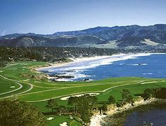 Pebble Beach, California - We seriously saw Phil M. in the parking lot!