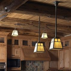 Image Result For Mission Style Kitchen Lighting