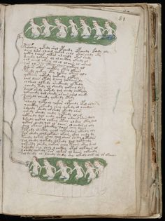 The Voynich Manuscript: The Book Nobody Can Read Voynich Manuscript, Illuminated Manuscript, Old Books, Antique Books, Codex Seraphinianus, Alphabet, Visual Diary, Colorful Drawings, Art Drawings