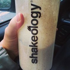 Apple Cinnamon Oatmeal Shakeology  1 scoop vanilla Shakeology  1 yellow (1/3 cup) rolled oats  1/2 purple (1/2 cup) no sugar added applesauce  1 teaspoon cinnamon  8 oz water   So good!  #21DayFixApproved #Shakeology