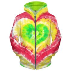 Rasta heart tie dye hoodie. Keep it irie with this warm hoodie. Perfect for that reggae show or chillen at the beach. People to most likely to rock this hoodie