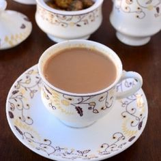Masala chai : Indian tea made with ginger, cloves, and cardamon.  Wish I could say I LOVED this tea; but I can not.  Nevertheless an experience to have