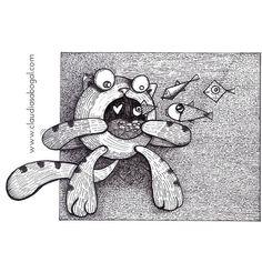 ::😻:: #illustration #ilustracion #ilustra #graphicdesign #drawing #cats #catslover #sketch #gatos #catsgram #penart #rapidografo #lineart #creative #bogotart #instaartwork #illustrationart #instaart #handdraw #love #amordegatos #pendrawing #instartist #ilustradoreslatinoamericanos #artoftheday #comics #fish #fineart