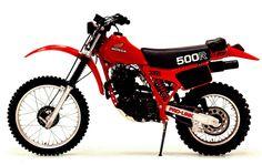 Honda XR500R Honda Dirt Bike, Honda Bikes, Honda Motorcycles, Motorcycle Bike, Vintage Bikes, Vintage Motorcycles, Street Legal Dirt Bike, Youth Dirt Bikes, Motorcross Bike