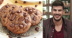Cookies σοκολάτας, που λιώνουν στο στόμα, έτοιμα σε 30 λεπτά Cake Mix Cookie Recipes, Cake Mix Cookies, Yummy Cookies, Greek Sweets, Greek Desserts, Almond Cookies, Chocolate Chip Cookies, Biscuits, Sweets Cake