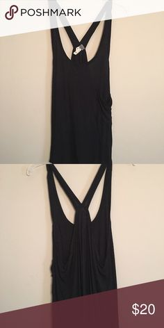 Free People Drape pocket Tank Worn once pocket Drape tank by free People. No stains or imperfections Free People Tops Tank Tops