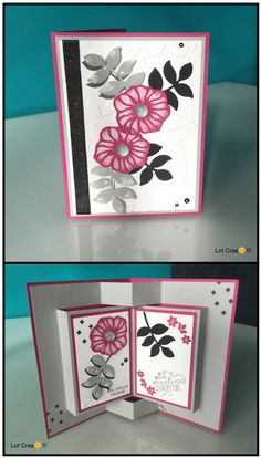 STAMPIN'UP...Pop Up Book Card...Oh So Eclectic...Colorful Seasons...