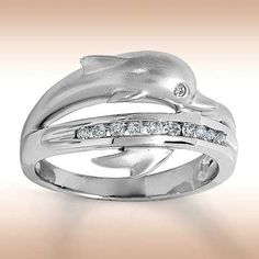 Find This Pin And More On Dolphins. Wedding Rings ...