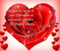 San valentino, rosa, amicizia