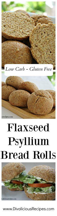 flaxseed bread rolls