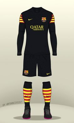 FC Barcelona - Third Kit 16 17 (concept) Uniformes Futebol dd1306afca2ec