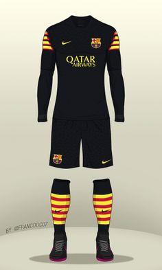 FC Barcelona - Third Kit 16/17 (concept)