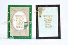 The Stamping Blok: Stamp to Share International Design Team Blog Hop   Coffee Cafe Bundle