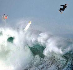 The Wedge @ Newport Beach, California