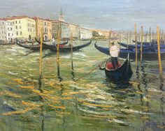 Jean-Paul Surin - Gondolier of the Grand Canal