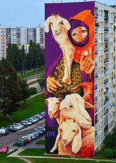 By Inti in Lodz, Poland