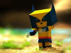MrFarts Little Super Heroes ( Little Wolverine ) by MrFarts