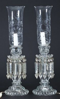 Antique Hurricane Lamps, Antique Lamps, Antique Lighting, Chandelier Centerpiece, Chandelier Lighting, Victorian Lamps, Oil Candles, Candle Stand, Luxury Decor