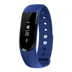 FITFIRE Smart Wireless Fitness Tracker with Heart Rate Monitor Activity Tracker Watch Blue ** Want to know more, click on the image.