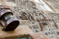 Hotel Bar Wynding Inn | Lord Crewe Hotel interior design by Ward Robinson | Northumberland Bamburgh | Signage